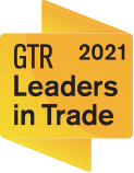 GTR Leaders in Trade Award 2021 badge