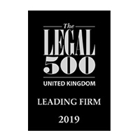 Legal 500 UK - Leading Firm