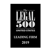 Legal 500 US 2019 Leading Firm