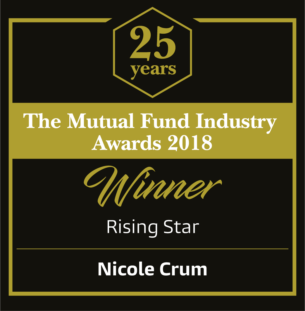 2018 Mutual Fund Industry Rising Star badge