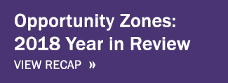 View Opportunity Zones 2018 Year in Review