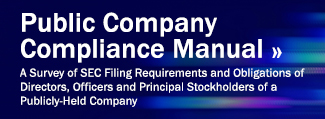 View Public Company Compliance Manual
