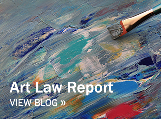 View Art Law Report blog