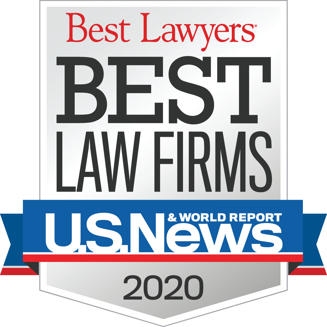 "U.S. News Best Lawyers ""Best Law Firms"" 2020"
