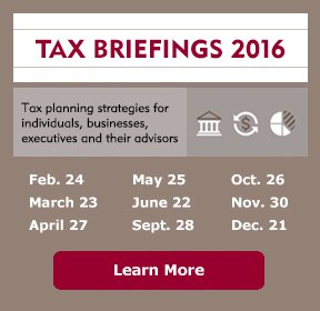 Image of Tax Briefings 2016