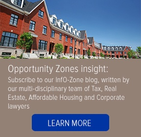 Visit S&W's InfO-Zone blog, offering insight and analysis about Opportunity Zones